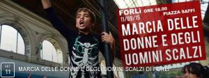 Marcia delle donne e degli uomini scalzi - Forlì